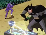 Batman sabotages