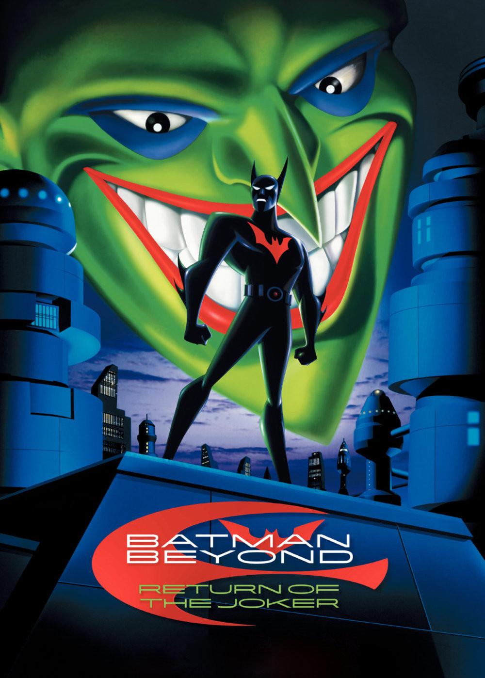 Batman Beyond Return Of The Joker Dvd Uncut Dc Animated