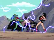 Justice League captured