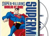 DC Comics Super-Villains: Superman - Worlds at War! (DVD)