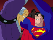 Mongul vs Superman