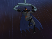Batman is captured by his own robotic arms