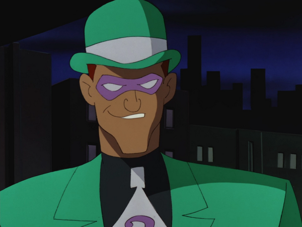 Batman The Animated Series//The New Batman Adventures Riddler