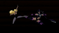 Huntress vs. Black Canary