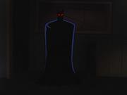 Batman with radar eyes