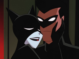 Catwoman and Nightwing