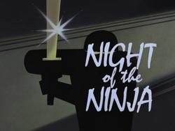 Night of the Ninja-Title Card