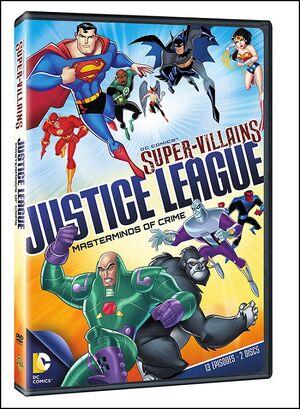 DC Supervillains JL MoC