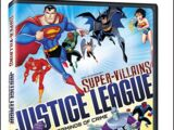 DC Comics Super-Villains: Justice League Masterminds of Crime (DVD)