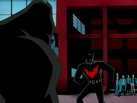 Batman calms Fingers