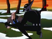Batman protects Freeze