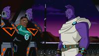 Green Lantern and Despero