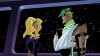 Green Arrow and Black Canary romance