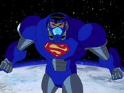 Superman's new space suit