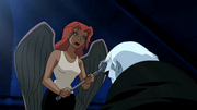 Shayera kills Grundy