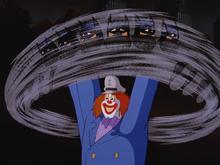 Batman vs Captain Clown