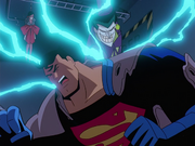 Joker overpowers Superman