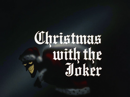 Christmas With the Joker-Title Card