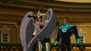 Hro kisses Shayera