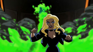 Black Canary vs. Fire