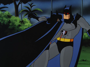 Batman Duplicant fights Batman