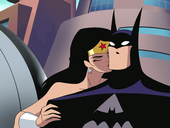 Batman Wonder Woman Kiss
