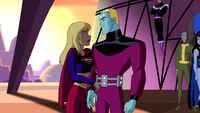 Supergirl and Brainiac 5