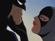 Catwoman seduces