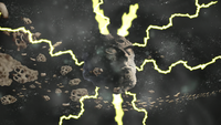 Asteroid strikes