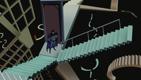 Batman stairs
