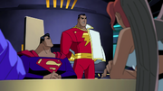 Captain Marvel and the Justice League