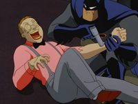 Batman cures Francis
