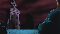 Batman visits parents's grave