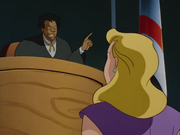 Selina stands trial