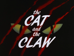 Cat and Claw-Title Card