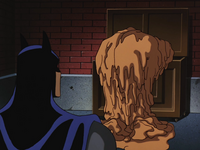Clayface falling apart