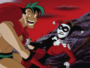 Creeper smitten with Harley