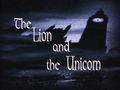 The Lion and the Unicorn-Title Card.png