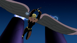 Hawkgirl's construct