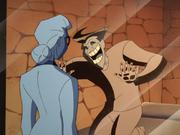 Joker seduces Quinzel