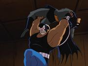 Bane prepares to break Batman