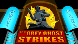 Grey Ghost Strikes poster