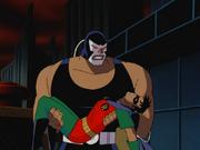 Bane captures Robin