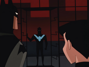 Nightwing interrupts