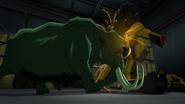 Beast Boy as Mammoth