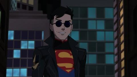 "Reign of the Supermen clip - ""Superboy Arrives"""