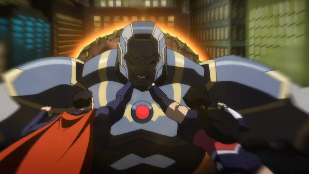 Superman and wonder woman vs darkseid
