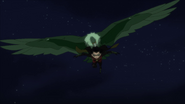 Beast Boy as a Vulture