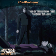 Batman vs. Robin dad problems