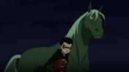 Beast Boy as a Horse